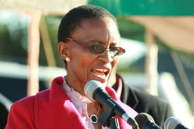 EDUCATION Minister Mahali Phamotse