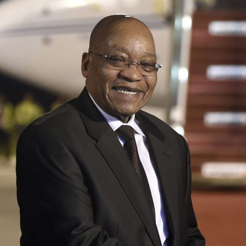 We need to prepare an exit strategy for Zuma'