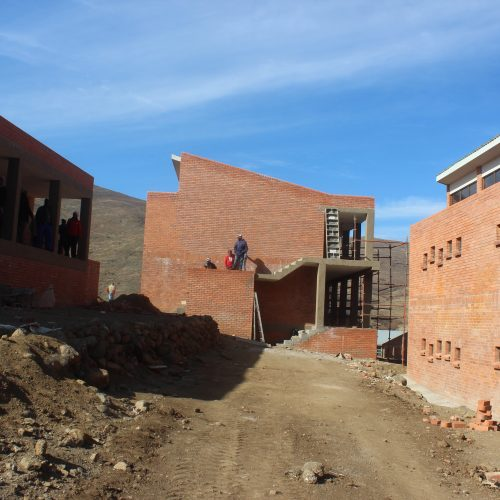 Mantšonyane sports facility takes shape