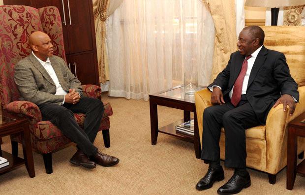 King and ramaphosa