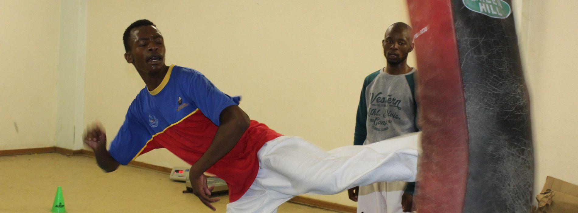 Taekwondo duo in South Korea