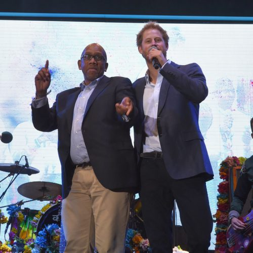 Prince Harry urges help in fight against HIV/Aids