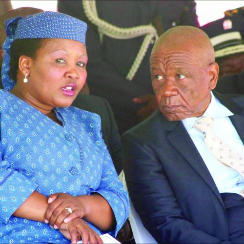 The cost of keeping  Thabane and his wife!