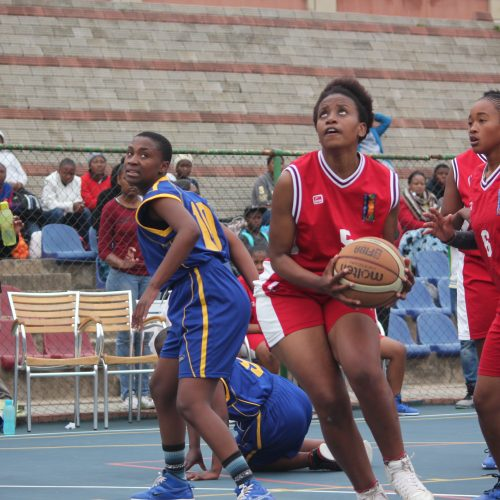 Masupha hails basketball standards at schools finals