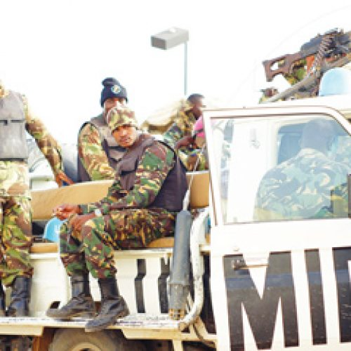The case of military intervention in Lesotho