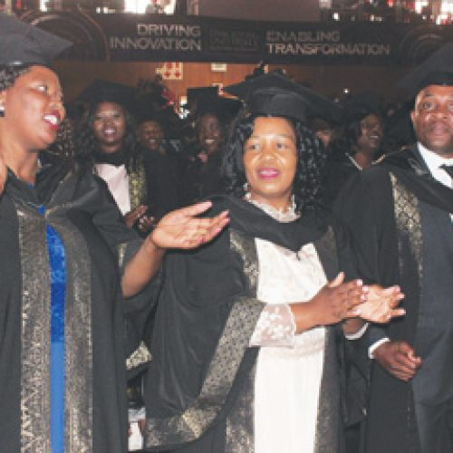 Econet rewards top  university students