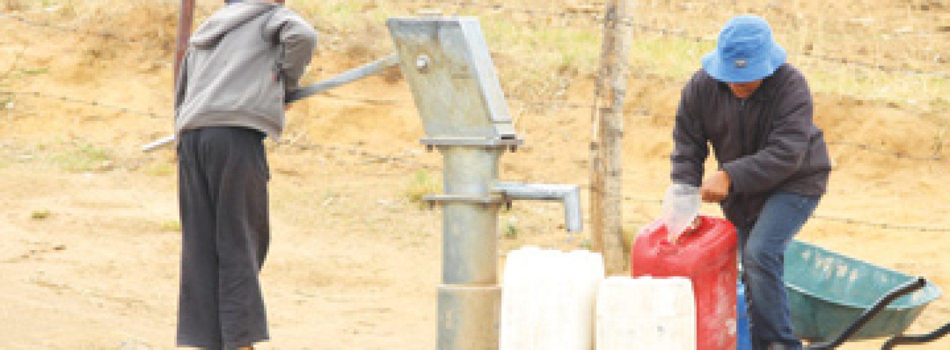 Thirsty in a land of plenty