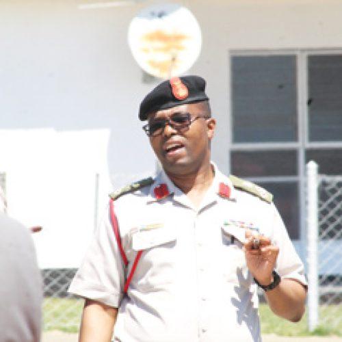 Brigadier Ntoi grilled