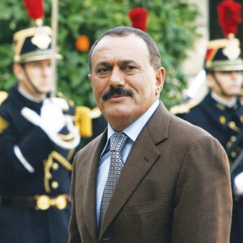 The end of Ali Abdullah Saleh