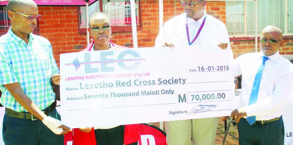 LEC injects M70k into Red Cross