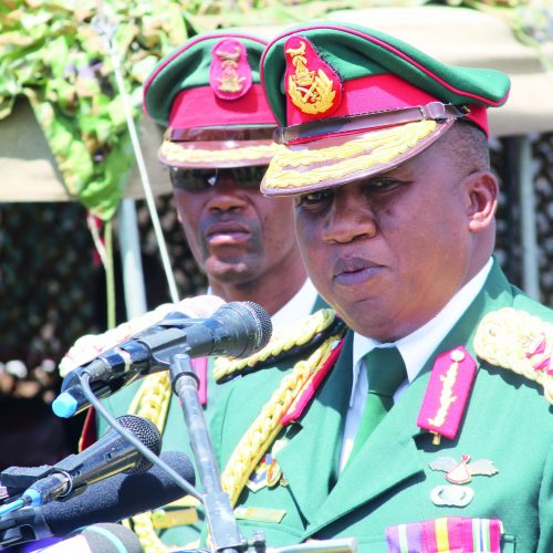 Army boss' guards arrested