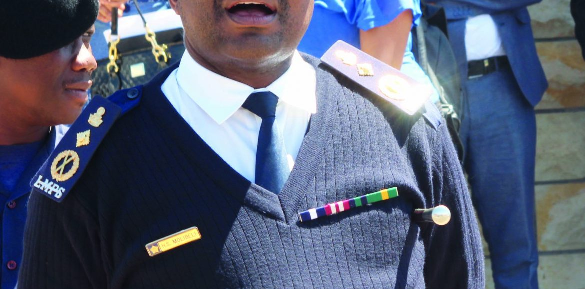 Police boss sued