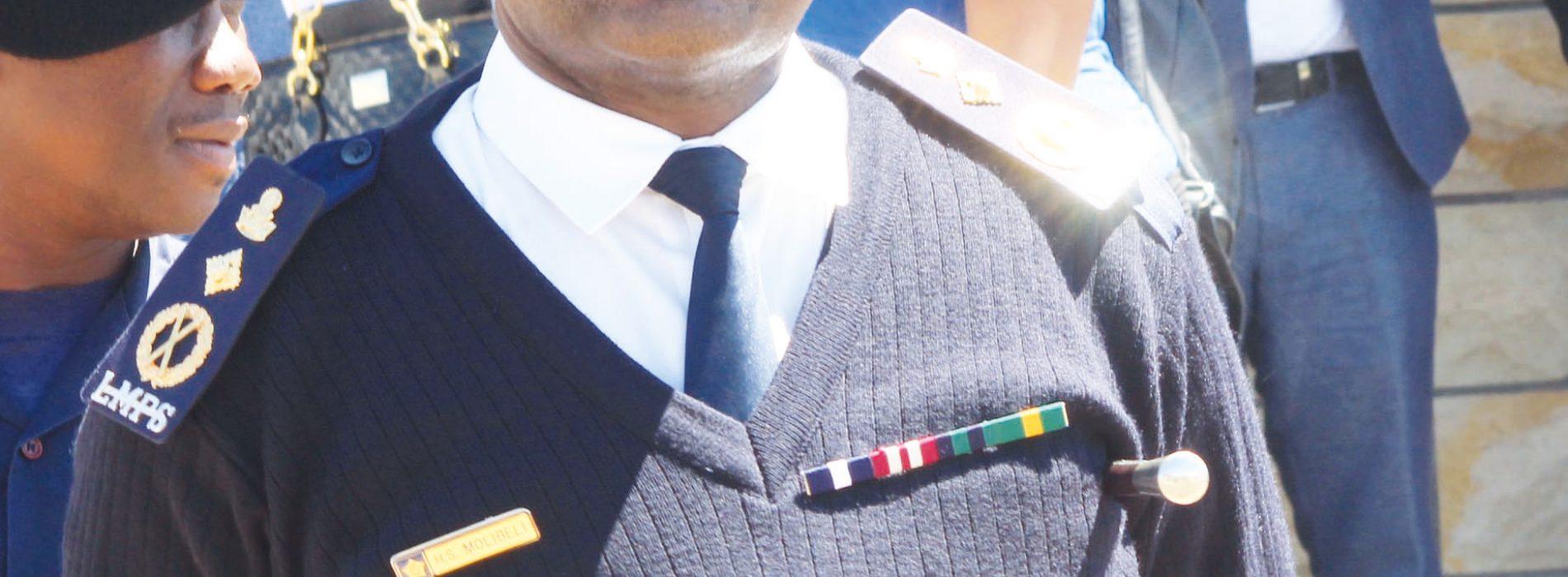 Police, army smoke peace pipe