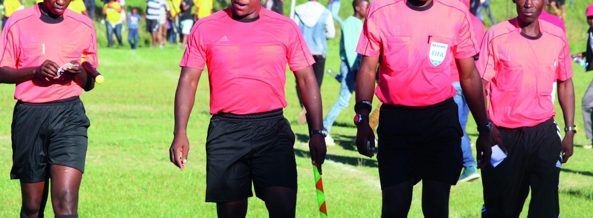 Match  officials  not paid