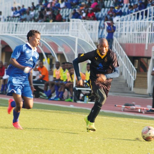 Bantu hold Township Rollers