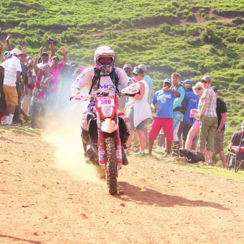 Motorbike riders descend on Lesotho