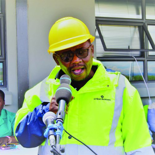 Thabane wants mines to boost lives of Basotho