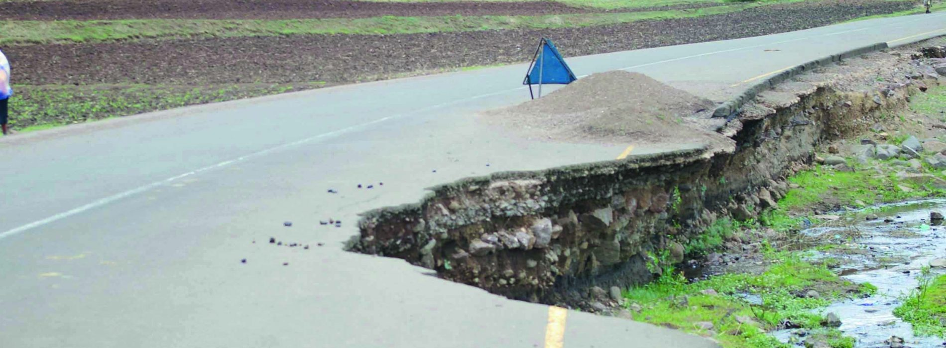 Bungling firm wins contract to fix road
