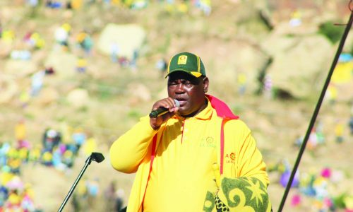 Moleleki pleads for peace
