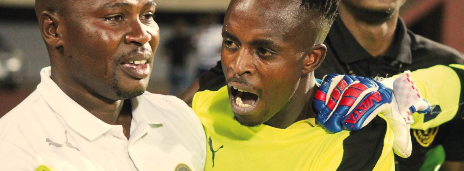 Tears of joy for Bantu keepers' coach