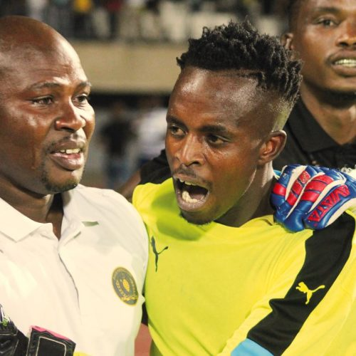 Tears of joy for Bantu keepers' coach
