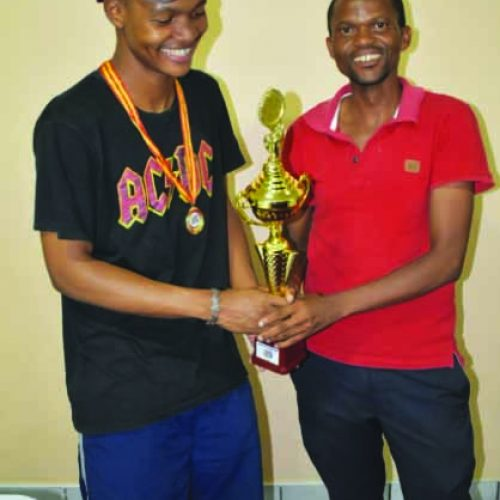 Chess master off to Namibia
