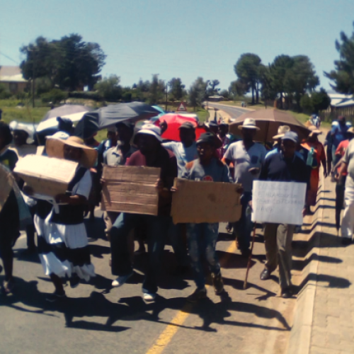 Residents march against WASCO
