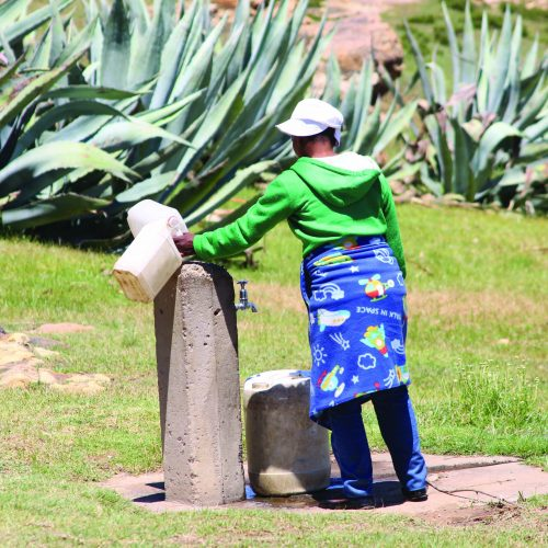Residents to protest over water