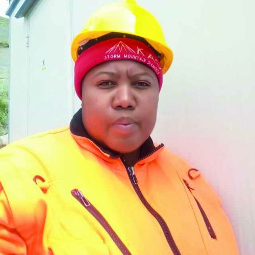 Kao Mine's first woman metallurgist