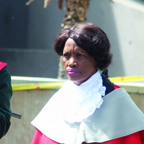 Judge moans over budget cuts