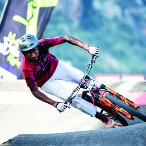 Mohapi in buoyant mood ahead of Red Bull Track finals