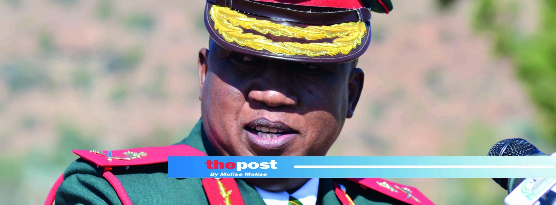Army boss warns of plot