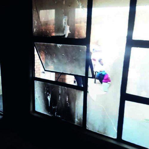 Family 'petrol bombed'