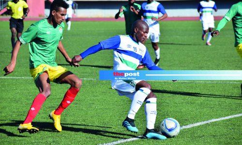 Senong  picks  squad for  Zimbabwe tie