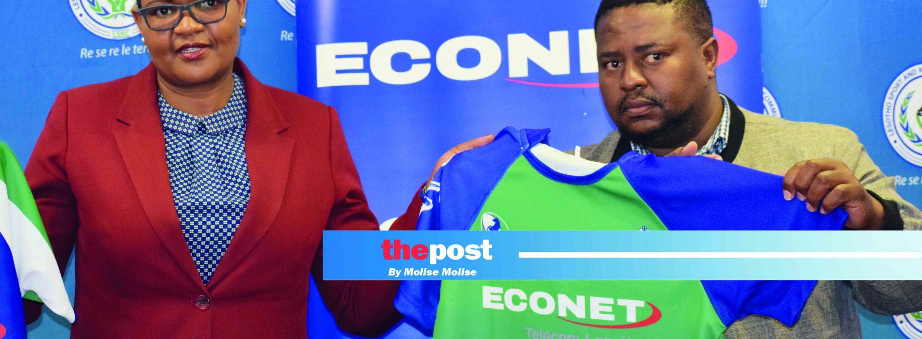 Econet dresses up FLR