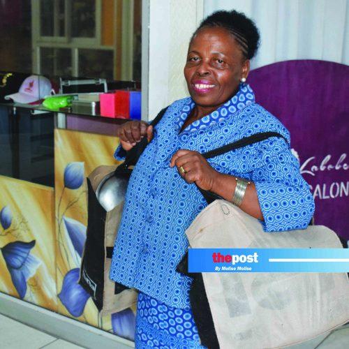 Hard work pays off for Maseru street vendor