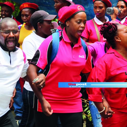 Teachers' meeting ends in chaos