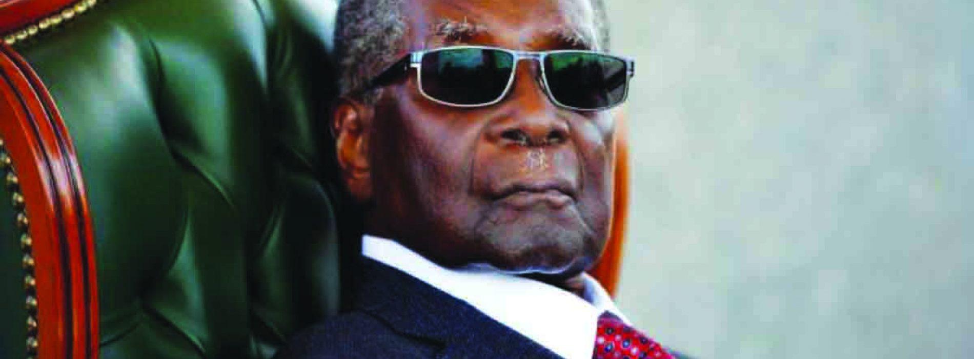 Goodbye Robert Mugabe