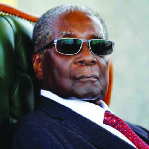 Goodbye Robert Mugabe