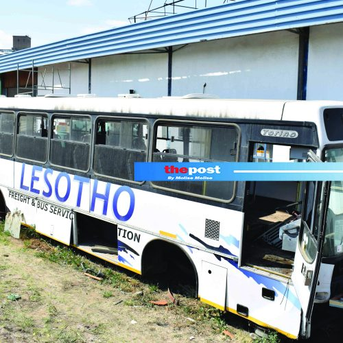 Lesotho Freight auctions buses