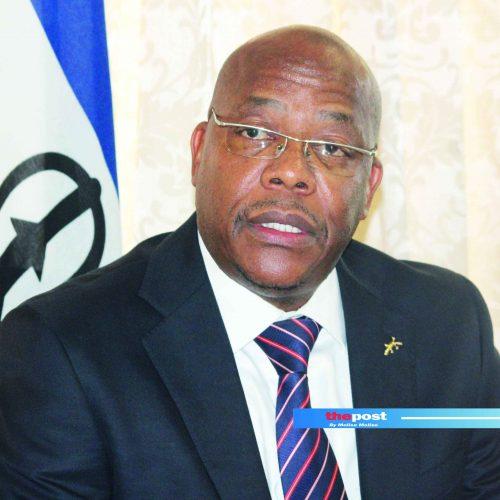 Lesotho's diplomatic boob