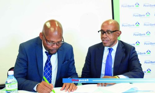 Lesotho Post Bank to sponsor A-Division