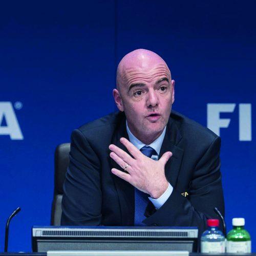 FIFA boss to visit Lesotho