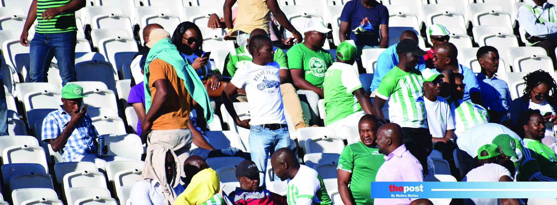 Boy injured in stadium chaos