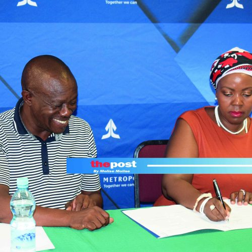 Metropolitan, Basutoland Ink boost league teams