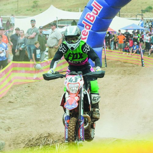 Local riders shine