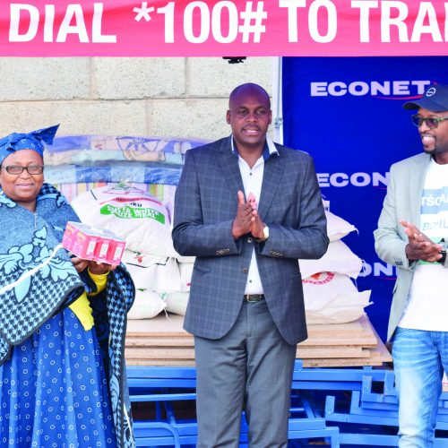 Econet helps to God's Love Centre