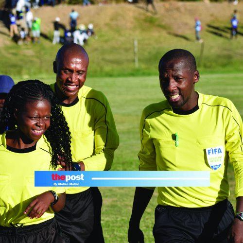 Match officials still not paid