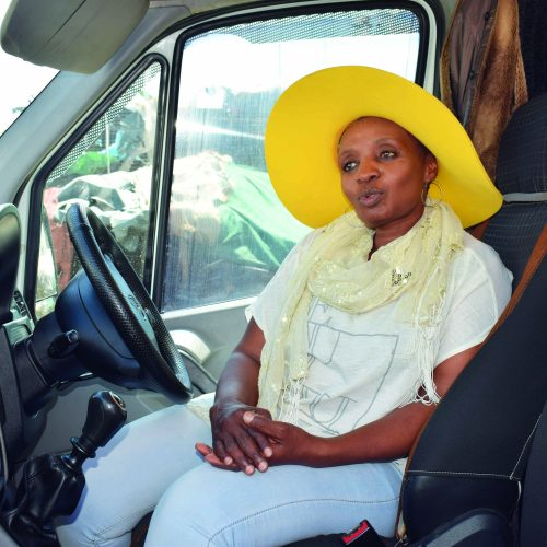 The woman bus driver breaking barriers