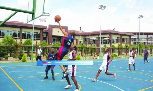 Basketball league suspended